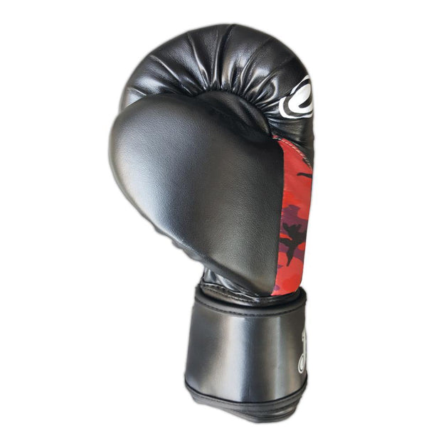Joya 10oz Kick Boxing Gloves Synthetic Leather Red Camo Image 4