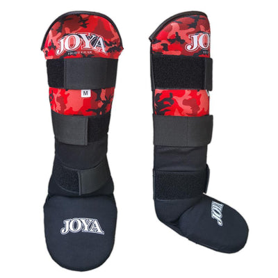 Joya XS Velcro Shinguard Camo Red Image 1