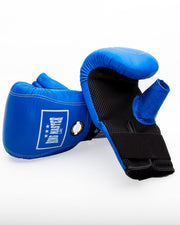 RingMaster Sports Bag Mitts Genuine Leather Blue Image 2