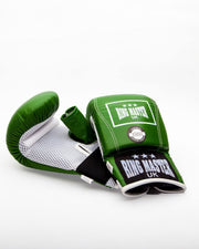 RingMaster Sports Bag Mitts Genuine Leather Green Image 2
