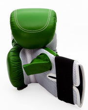 RingMaster Sports Bag Mitts Genuine Leather Green Image 5