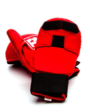 RingMaster Sports Synthetic Leather Karate Gloves Red image 4