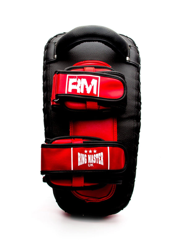 RingMaster Sports One Size Arm Pads Synthetic Leather Black and Red (Single Item) Image 4