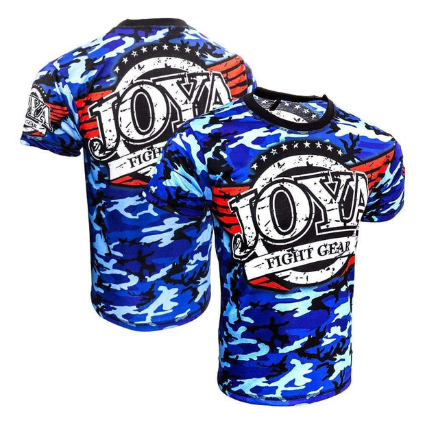 RingMaster Sports JOYA T SHIRT CAMO BLUE Medium image2