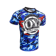 RingMaster Sports JOYA T SHIRT CAMO BLUE Medium image 1