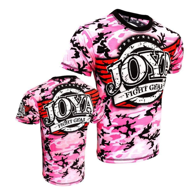RingMaster Sports JOYA T SHIRT CAMO PINK Medium image 4