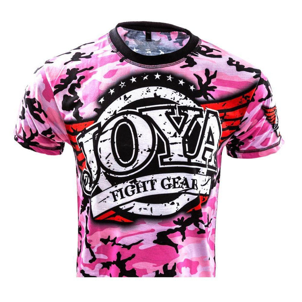 RingMaster Sports JOYA T SHIRT CAMO PINK Medium image 1