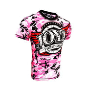 RingMaster Sports JOYA T SHIRT CAMO PINK Medium image 3