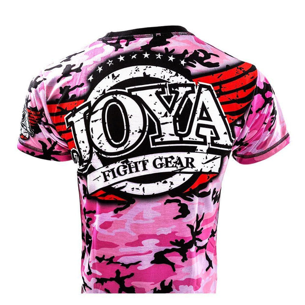 RingMaster Sports JOYA T SHIRT CAMO PINK Medium image 2