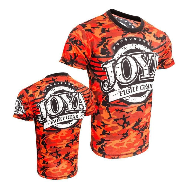 RingMaster Sports JOYA T SHIRT CAMO RED XS image 3