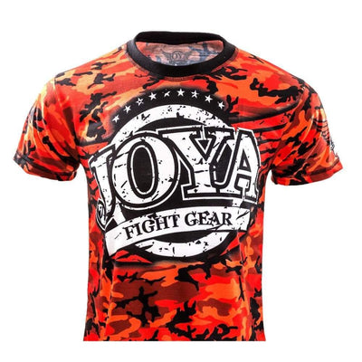 RingMaster Sports JOYA T SHIRT CAMO RED Medium image 1