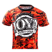 RingMaster Sports JOYA T SHIRT CAMO RED XS image 1