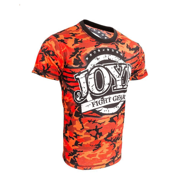 RingMaster Sports JOYA T SHIRT CAMO RED Medium image 2