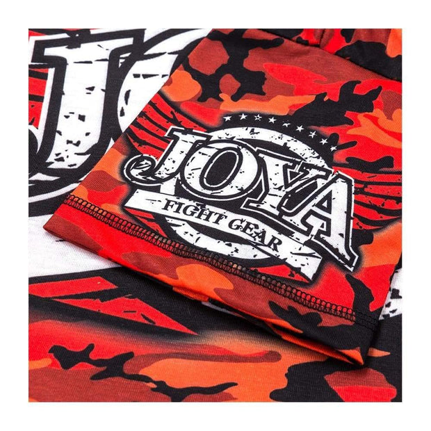 RingMaster Sports JOYA T SHIRT CAMO RED Medium image 4