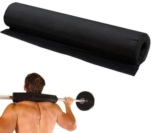 OLYMPIC FITNESS FOAM SUPPORT WEIGHT LIFTING BAR PAD BLACK