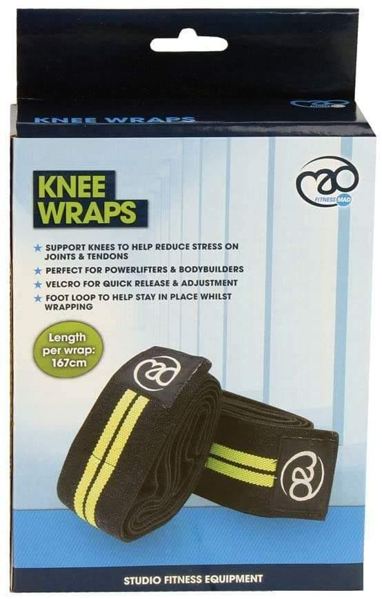 FITNESS MAD KNEE WRAPS