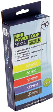 FITNESS MAD MINI POWER LOOP SET (5)