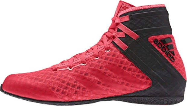 Adidas Boxing Adults Speedex 16.1 Shock Black/Red Boots Shoes