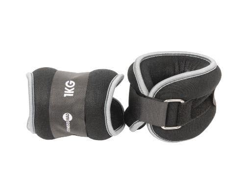 Fitness Mad Neoprene Wrist/Ankle Weights 2 x 1kg