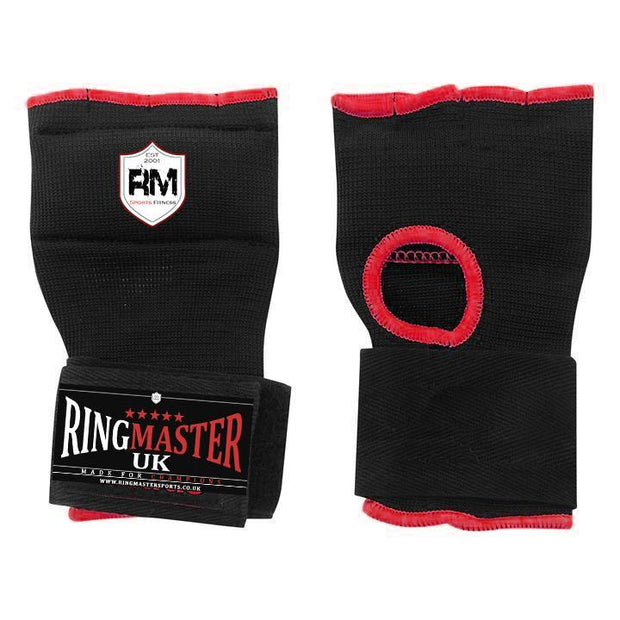 RingMaster Sports Medium Black Gel Inner Gloves