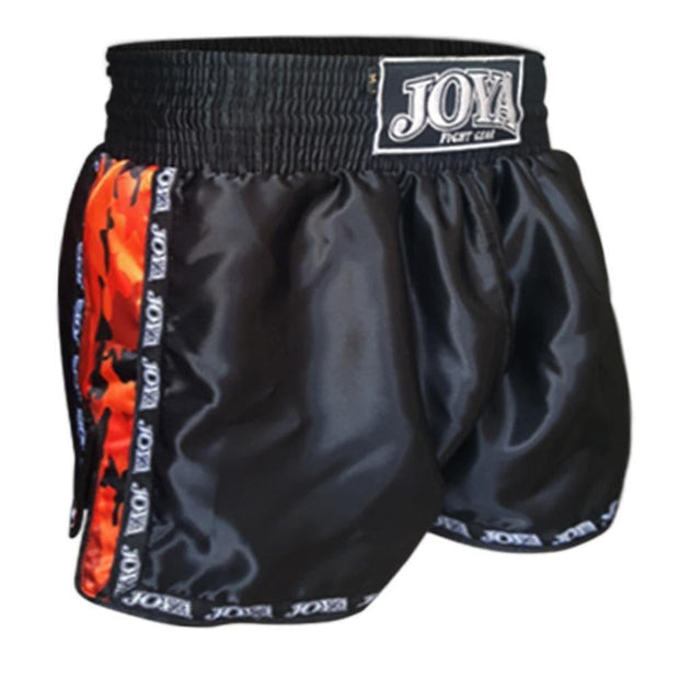 RingMaster Sports Joya Kickboxing Shorts Camo Red