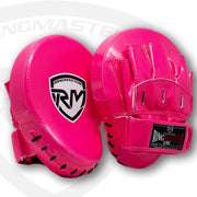 RingMaster Sports Ultralight Focus Pads Carbon Leather One Size Pink