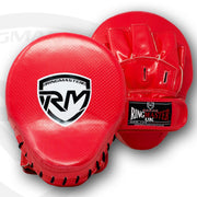 RingMaster Sports Ultralight Focus Pads Carbon Leather One Size Red