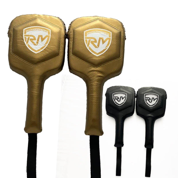RingMaster Sports Boxing Paddles Carbon Leather image 1