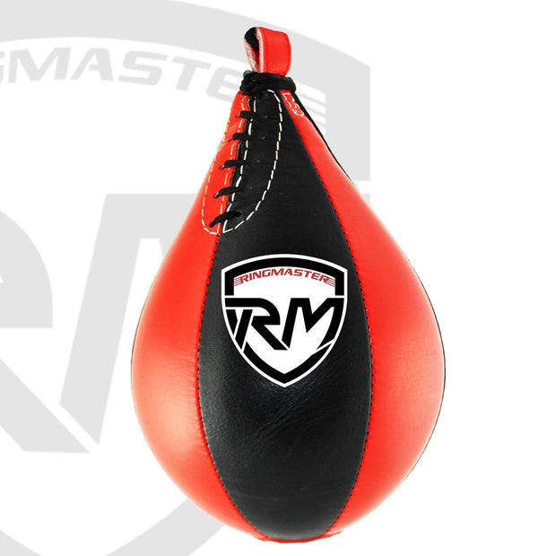 RingMaster Sports Speed Ball Synthetic Leather Red/Black