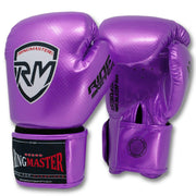 RingMaster Sports - Phenom Kids Boxing Gloves CarbonTech Purple