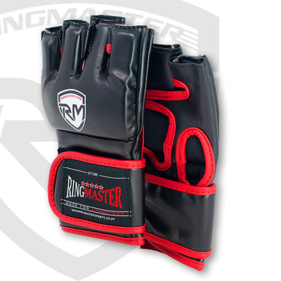 RingMaster Sports Warrior Series MMA Gloves 5oz Black