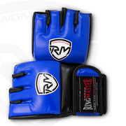 RingMaster Sports Warrior Series MMA Gloves 5oz Blue