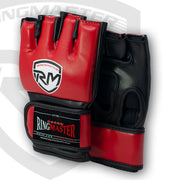 RingMaster Sports Warrior Series MMA Gloves 5oz Red