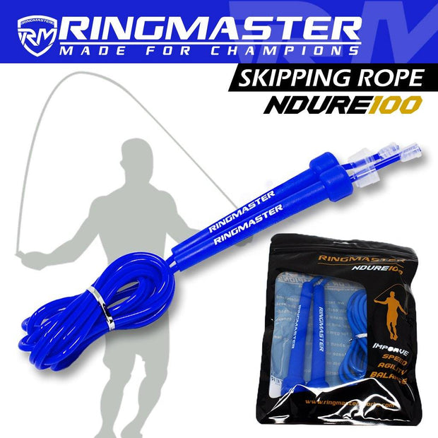 RingMaster Sports Skipping Rope 3m Blue