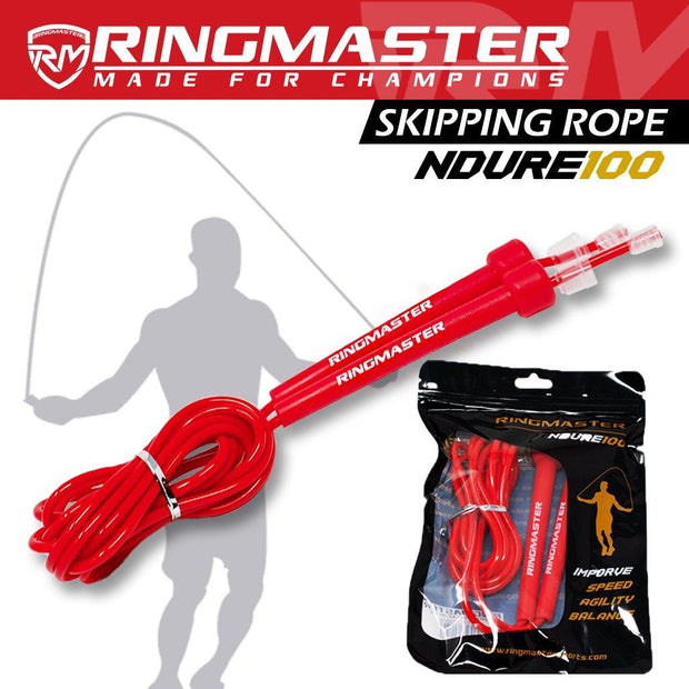 RingMaster Sports Skipping Rope 3m Red