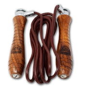 RingMaster Sports Heavy Duty Leather Skipping Rope