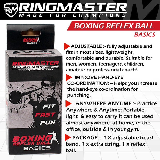 RingMaster Sports Head Speed ball / Boxing Reflex Ball