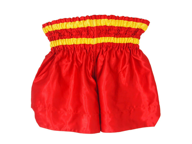 RingMaster Sports Thai Kickboxing Shorts Red Image 3