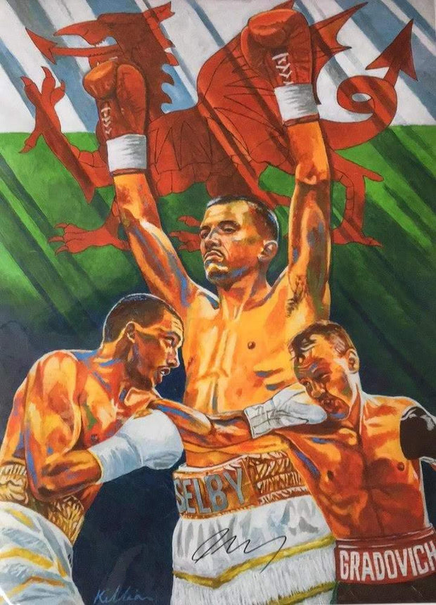 **SIGNED** Lee Selby Limited Edition original Painting Print Poster By Patrick J. Killian Image 1