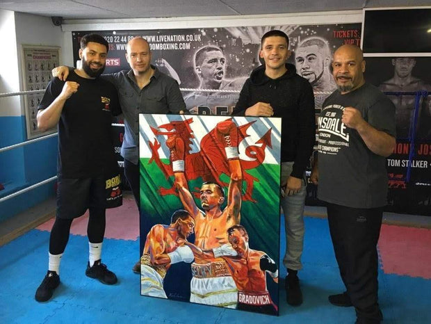 **SIGNED & MESSAGE** Lee Selby Limited Edition original Painting Print Poster By Patrick J. Killian Image 3