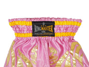 RingMaster Sports Thai Kickboxing Shorts Pink Image 2