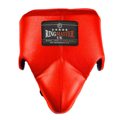 RingMaster Sports Groin Guard Genuine Leather Yellow image 1