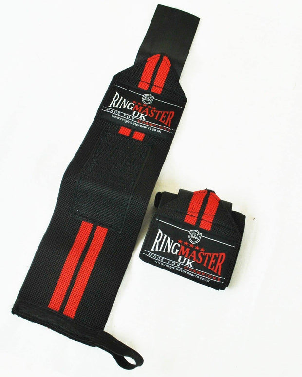 RingMaster Sports Weight Lifting Wrist Wrap Gym wrist Strap image 1