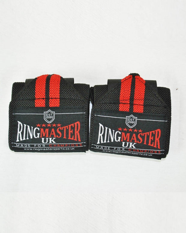 RingMaster Sports Weight Lifting Wrist Wrap Gym wrist Strap image 2