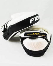 RingMaster sports Focus pads One Size Genuine Leather Black and White Image 4