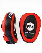 RingMaster Sports One Size Focus pads Genuine Leather Red and Black Image 5