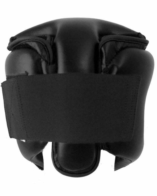 RingMaster Sports Open Face Kids Headguard AIBA styled Black Image 3