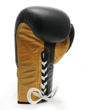 RingMaster Sports Sparring Boxing Gloves PS1.0 Series Black and Gold Image 3