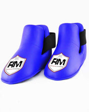 RingMaster Sports Kids Semi Contact Point Foot Protector Taekwondo Kickboxing Blue image 1