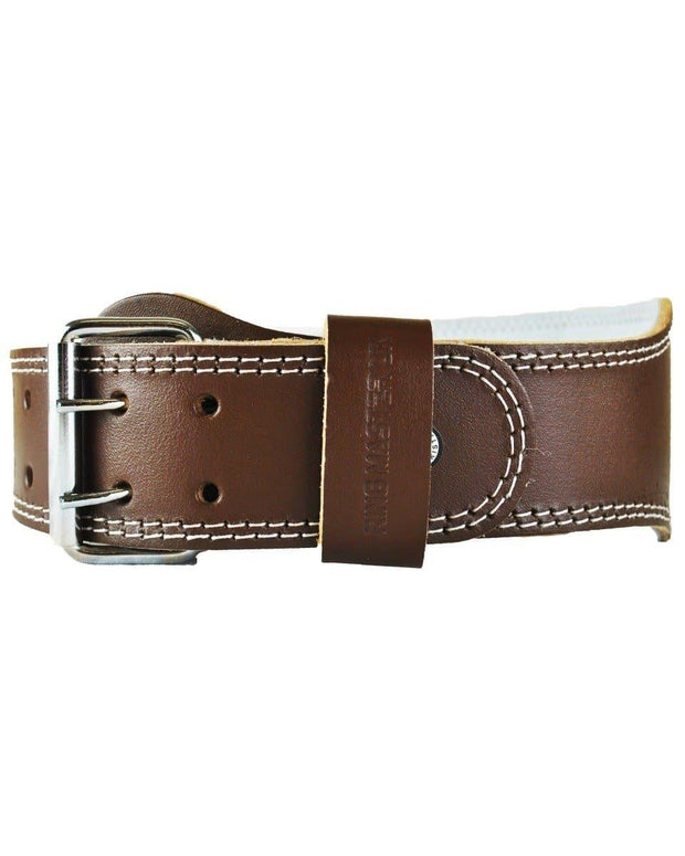 RingMaster Sports Leather WeightLifting Belt Image 3